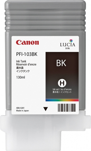 PFI-103BK Cartridge- Click on picture for larger image