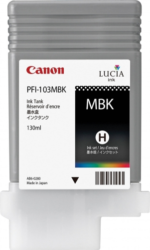 PFI-103MBK Cartridge- Click on picture for larger image